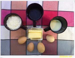продукти за тесто за еклери