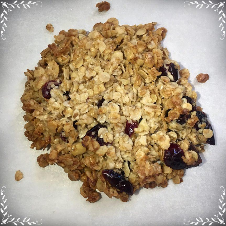 Веган бисквити от овесени ядки и мед