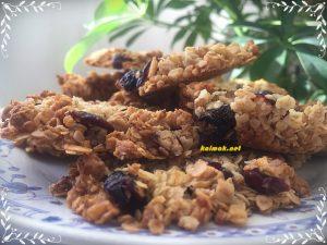 бисквити с овесени ядки; cookies with oatmeal